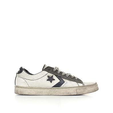 scarpe converse uomo pelle
