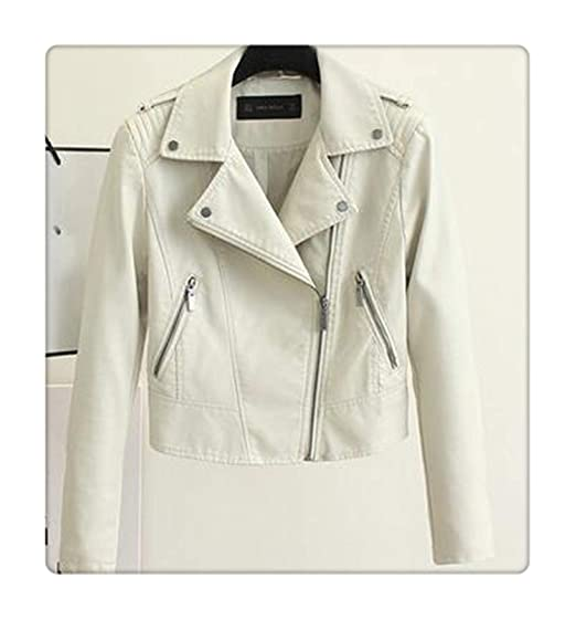 77c4d6523ac Brand Motorcycle PU Leather Jacket Women Winter and Autumn Coat 4 Color  Zipper Outerwear Jacket New