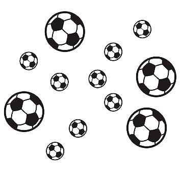 Fútbol Balones de fútbol Etiqueta de la pared Tatuajes de pared ...