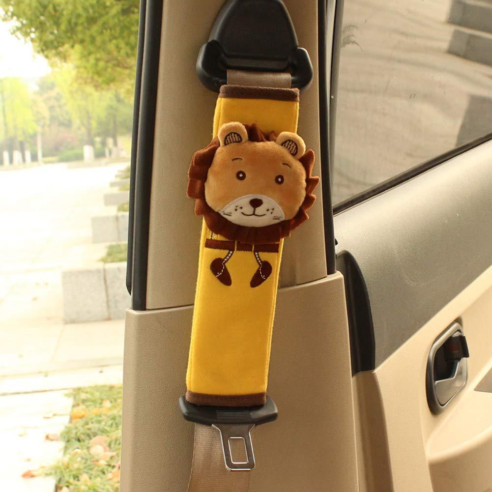 Tianmei 2Pcs Cute Cartoon Doll Styling Car Seat Belt Cover Shoulder Strap Pad Bear Generic