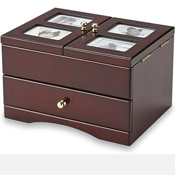 Amazoncom Jaclyn Smith Wooden Jewelry Box Wooden Photo Frame