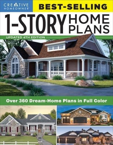 Best-Selling 1-Story Home Plans, Updated 4th