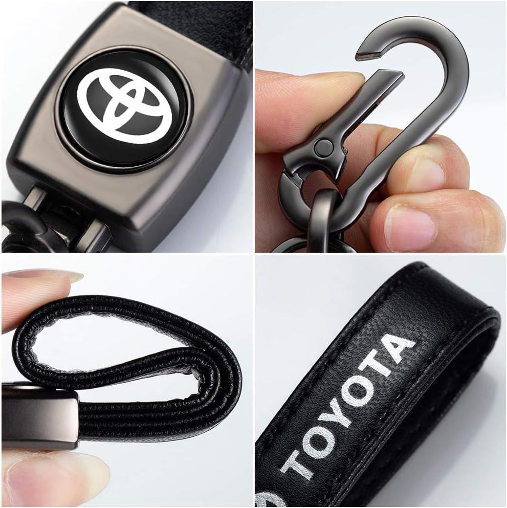 M Keychain Keyring Family Present,accessories Black Genuine Leather Key Chain Suit for BMW 1 3 5 6 Series X5 X6 Z4 X1 X3 X7 9 Series