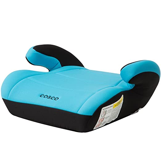 Cosco Topside Booster Car Seat - Easy to Move, Lightweight Design (Turquoise)