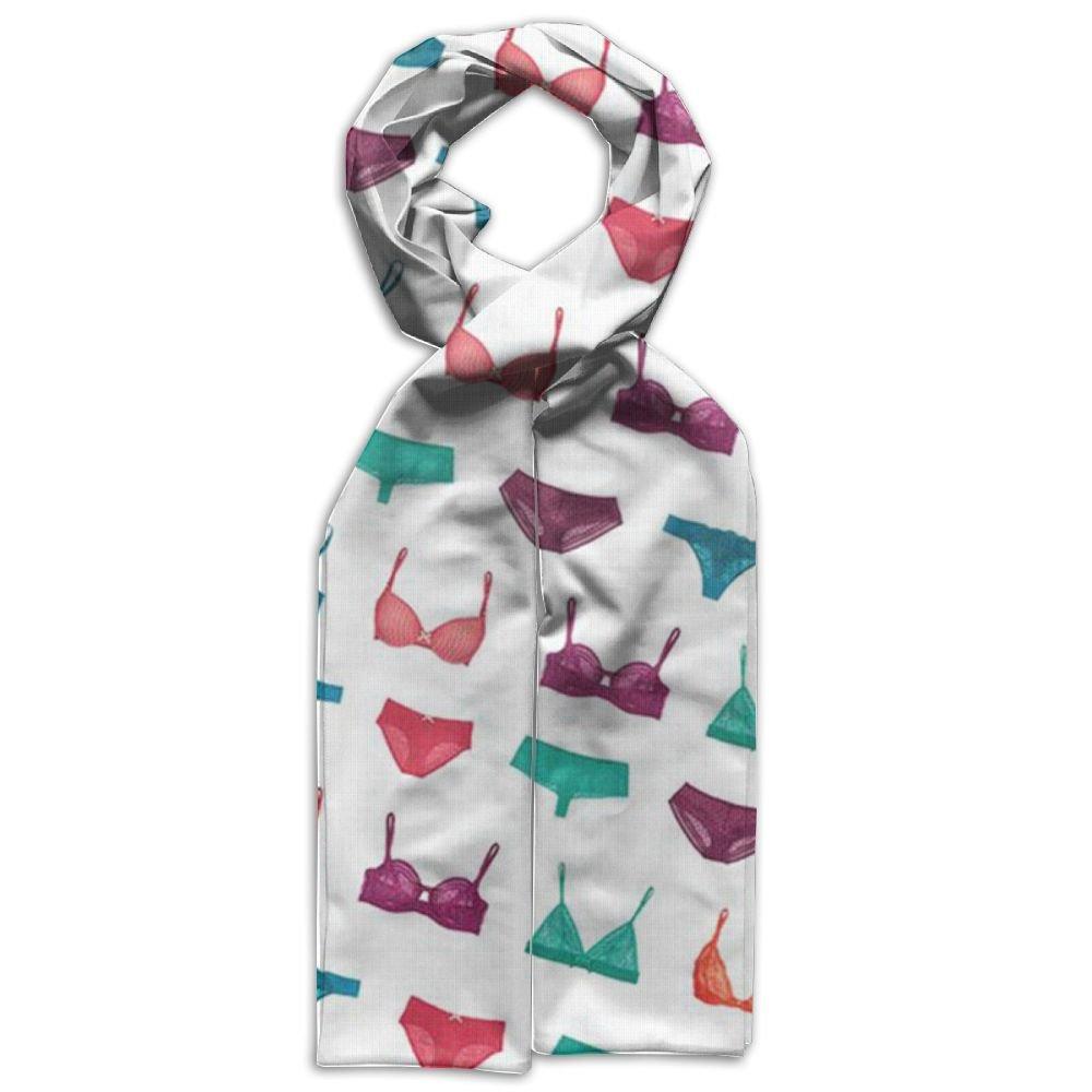 DGYEG44 Bikini Printing Scarf Kids Warm Soft Fashion Scarf Shawl For Autumn Winter