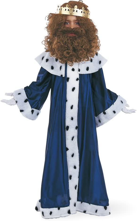 Limit Sport - Disfraz de Rey Melchor con corona para niños (MI075 ...