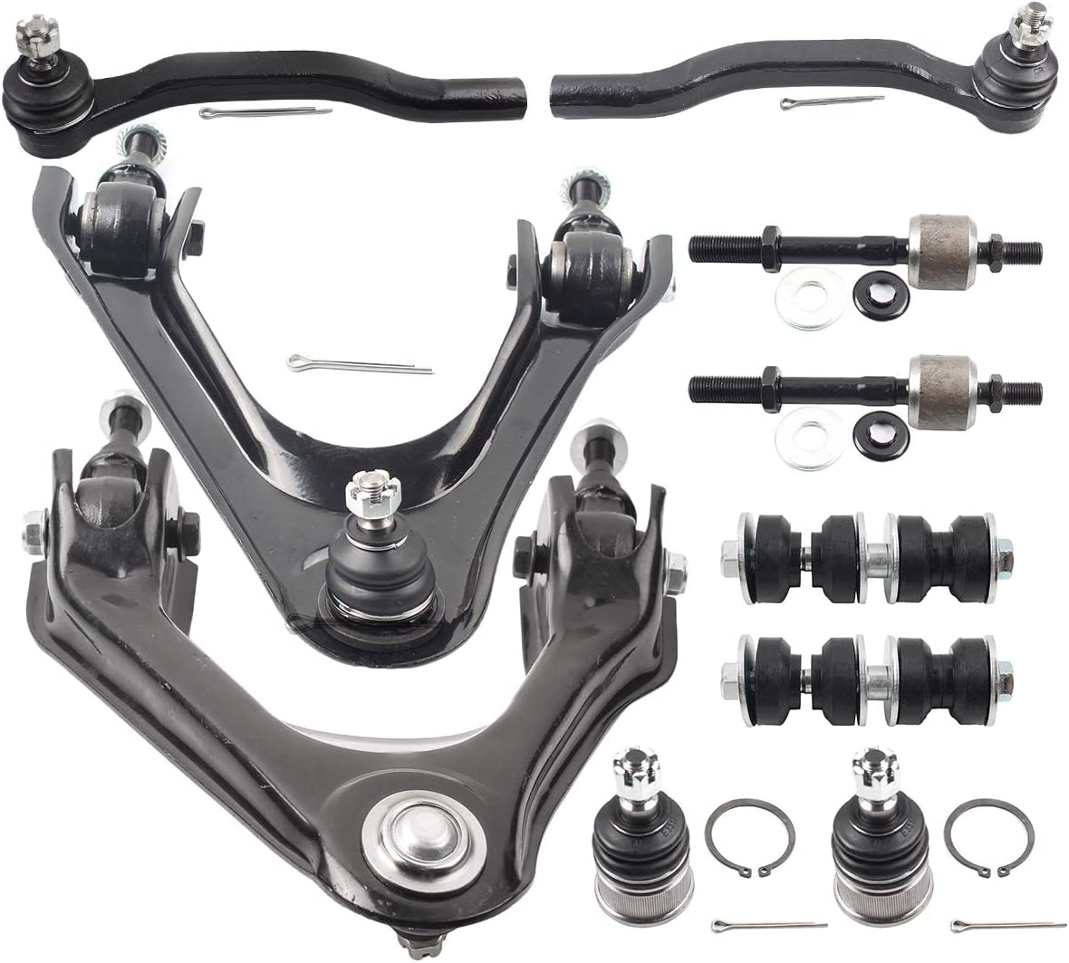 Honda 1990-1997 Accord /& 1995-1998 Odyssey 1996-1999 Isuzu Oasis MILLION PARTS 2PC Front Left Right Stabilizer Sway Bar End Links Suspension Kit for Acura 1997-1999 CL /& 1995-1998 TL
