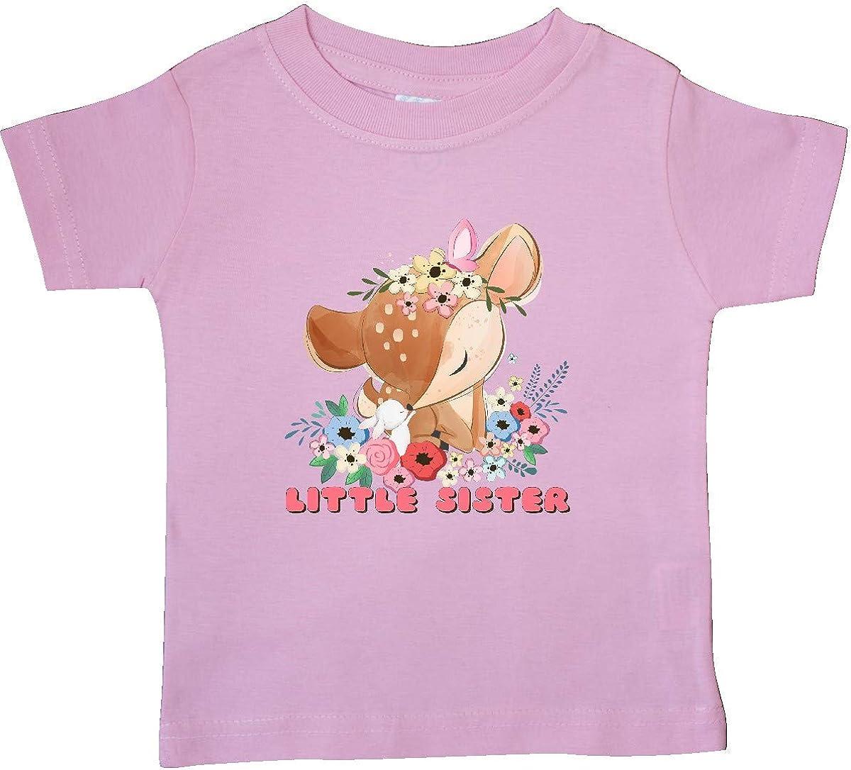 inktastic Little Sister Deer Baby T-Shirt