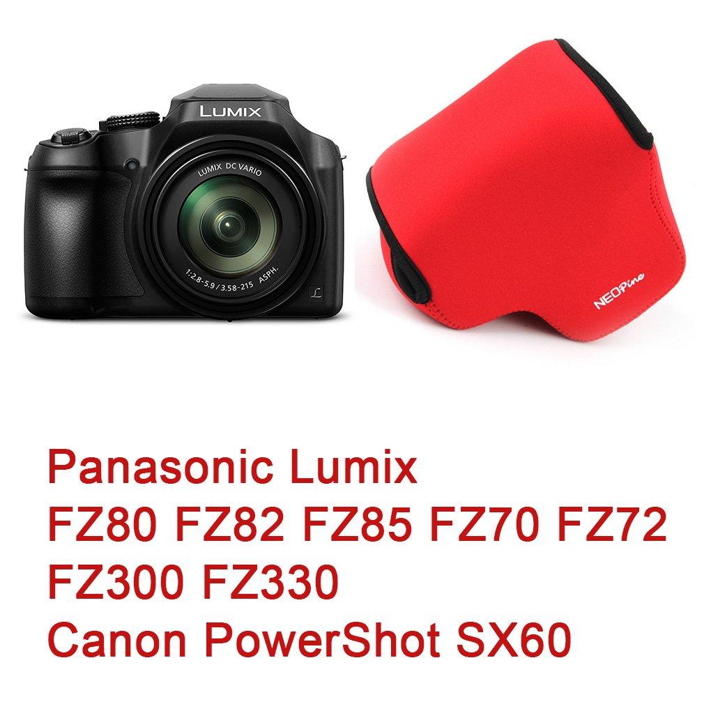 First2savvv amarillo Funda C/ámara Reflex Neopreno Protectora para Fujifilm X-T3 XT3 with 18-55mm Lens Pa/ño de limpieza QSL-FZ80-13G11 Panasonic Lumix FZ80 FZ82 FZ85 FZ70 FZ72 FZ300 FZ330 Canon PowerShot SX70 SX60
