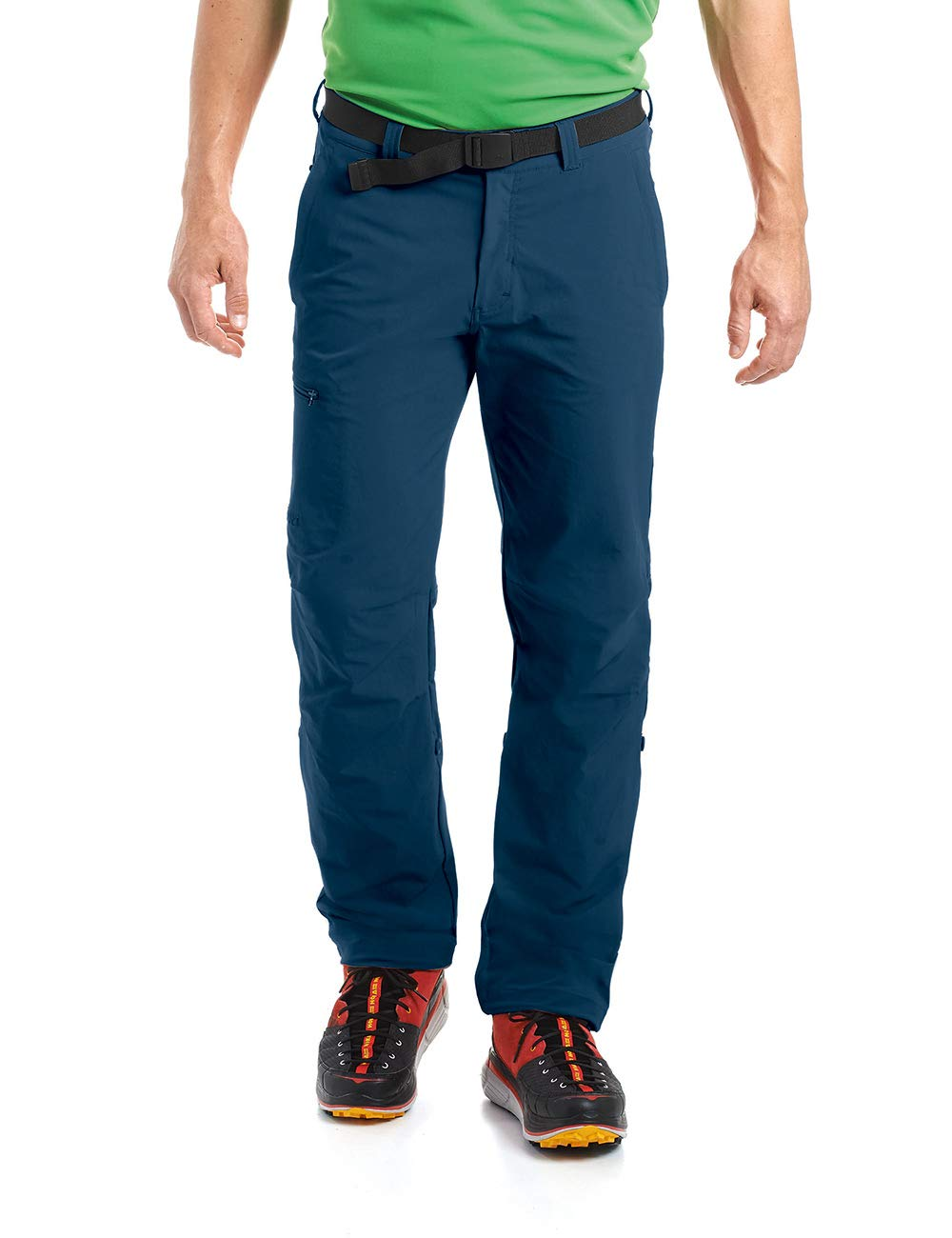 Aviator  Maier Sports Nil Pantalon de randonnée Roll up 90% PA 10% EL avec Ceinture, bi-élastique, séchage Rapide et imperméable