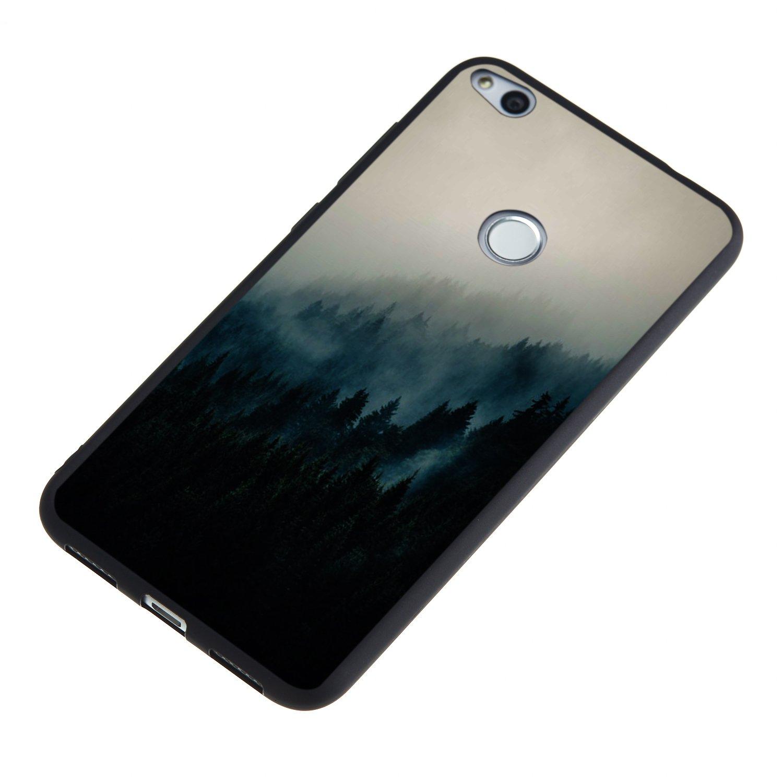Misteem Retro H/ülle f/ür Huawei P9 Lite 2017 Muster Adler Schwarz Extra D/ünn Licht Bunt Softcase in TPU Silikon Shell Sto/ßfest Schutzh/ülle f/ür Huawei P8 Lite 2017 Matt Black