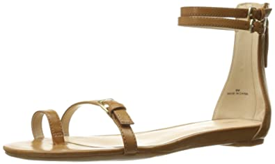 Nine West Women's Onque Synthetic Dress Sandal, Medium Natural, ...