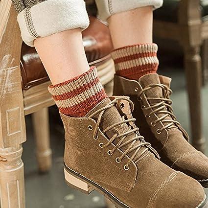 Calcetines chica, en un barril de gruesos calcetines coreano retro Harajuku suma está mojado calcetines