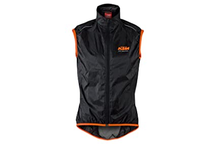 3c451de3a4 Amazon.com: KTM Windbreaker Factory Line Black: Clothing