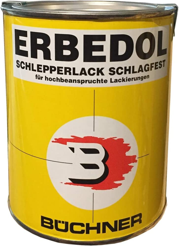 Erbedol Fendt GrÜn 6350 Büchner Kunstharzlack 750ml 0620 3853 Küche Haushalt