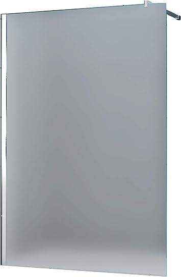 10 mm Düsseldorf – Mampara de ducha, vidrio opalino, Frost 150 x ...