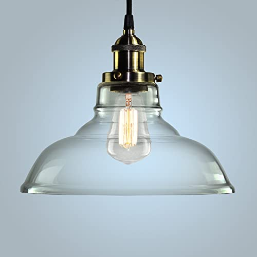 Pendant Light Hanging Glass Ceiling Mounted Chandelier Fixture