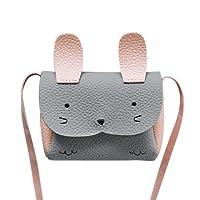 La Cabina Mini Sac à Bandoulière Enfants Messenger Bag Bébé Filles Sac à Main épaule Mignon Rabbit Crossbody