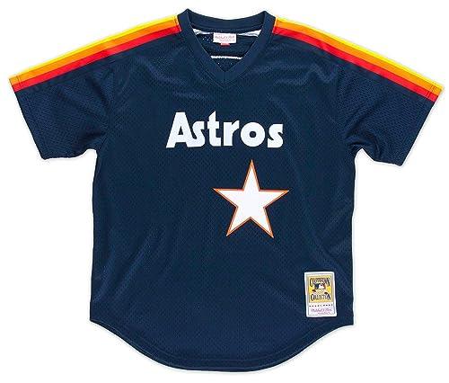 3698a5c4e8e Nolan Ryan Houston Astros Mitchell   Ness Authentic 1991 BP Jersey (LARGE)