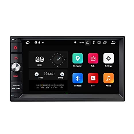 Amazon com: Double Din Car Radio Eonon, Android Car Stereo