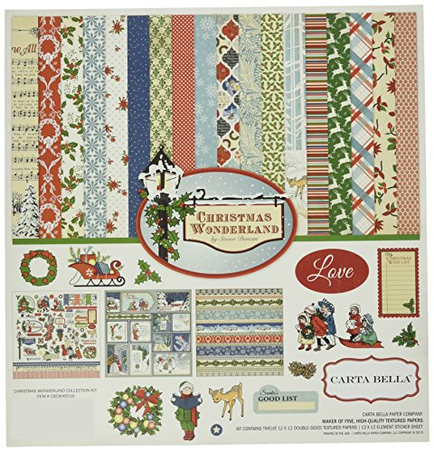 Carta Bella Paper Company Christmas Wond