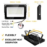 Onforu 2 Pack 100W LED Flood Light, 10000lm Super