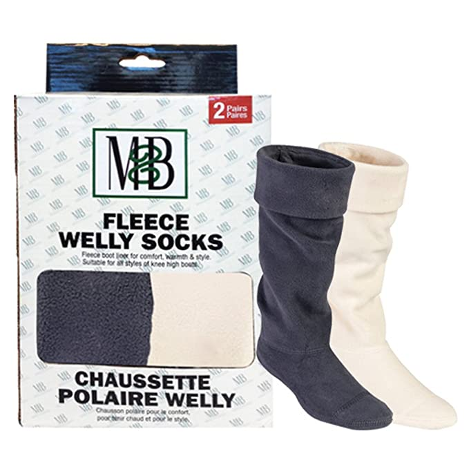 Moneysworth y mejor forro polar Welly socks ceGfQKn3