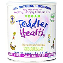 Toddler Health - Nutritional Drink Mix, Dairy, Gluten & Soy Free, Rice Vanilla 10 servings