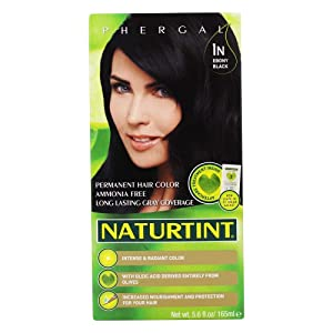Permanent Hair Color - 1N Ebony Black 1 Box