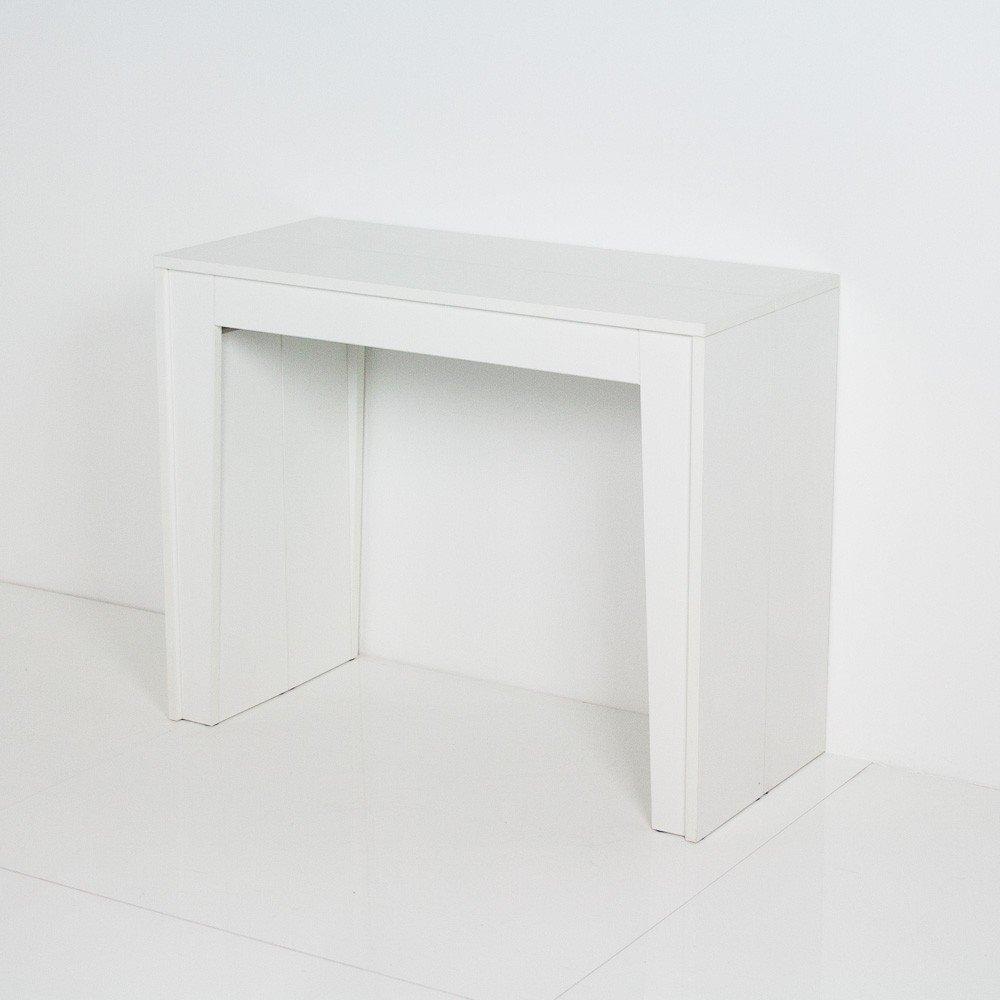 Mesa consola extensible, fabricada en Italia, mod. Magica ...