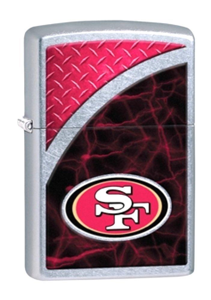 San Francisco 49ers Nfl Zippo Outdoor Indoor Windproof Lighter Free