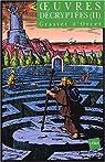Oeuvres décryptées. Tome 2 par Grasset d'Orcet