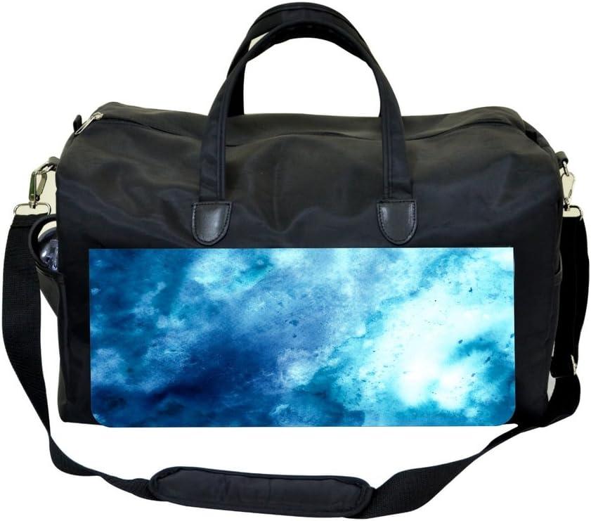 Jacks Outlet Grunge Blue Watercolor Sports Bag