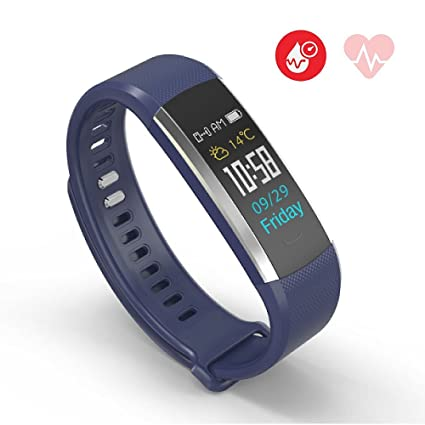Jarv Run-Fit PRO Activity Tracker Bluetooth Smartwatch Fitness Band for iPhone or Android w