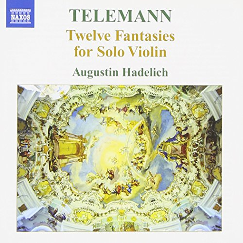 Telemann: Twelve Fantasies for Solo Violin