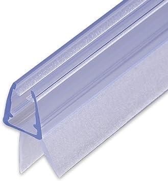 Sealis Junta para ducha de recambio de 100 cm - Junta impermeable para mamparas de 5 mm/