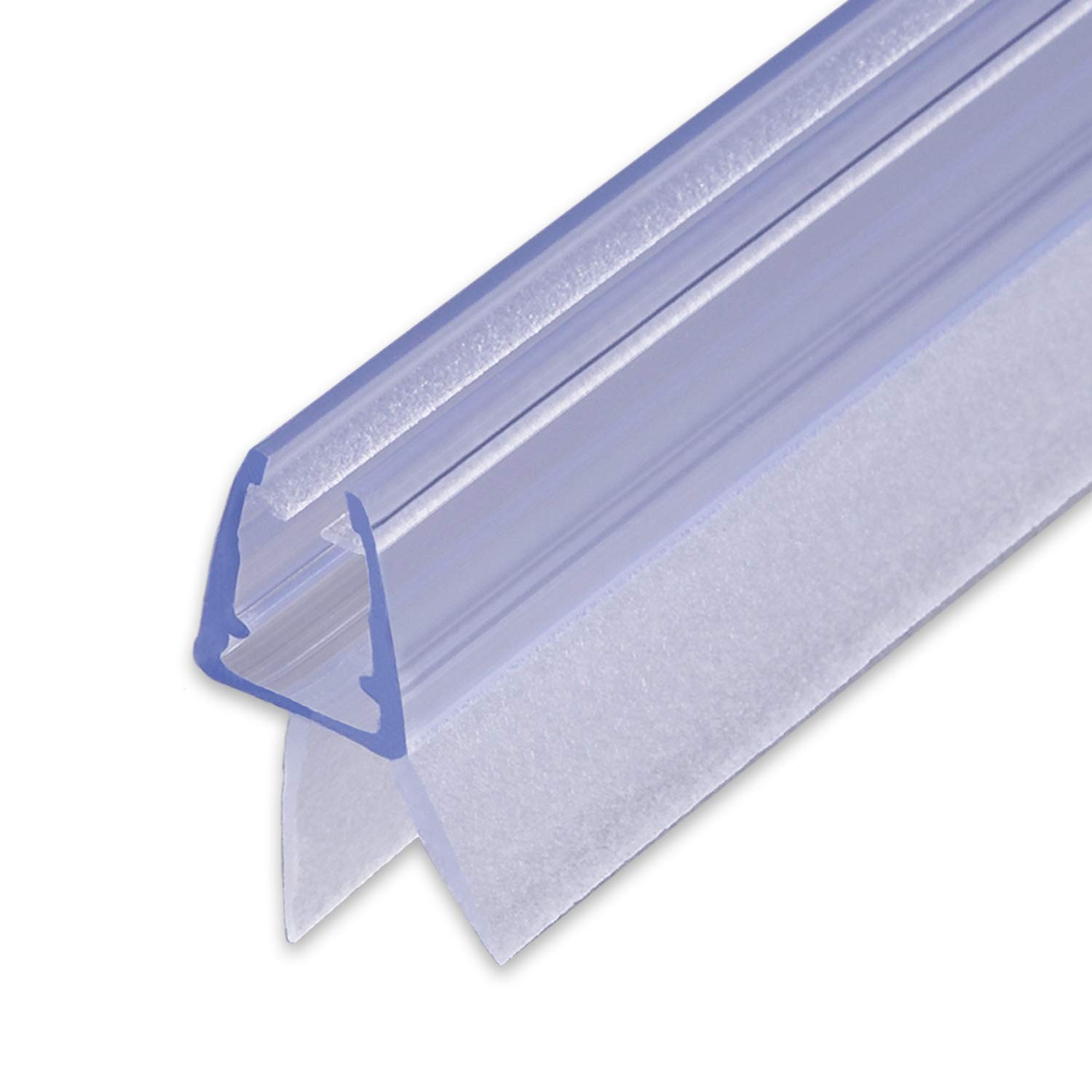 100cm Replacement Seal with Sealing Piping for 6/7/8mm Glass Thickness, Water-Repellent Shower Seal, Splash Guard, Shower Cubicle #1001 Sealis