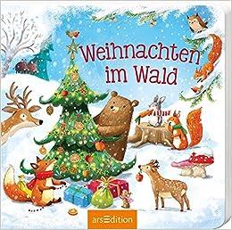 Kinderbücher Weihnachten.Weihnachten Im Wald Amazon De Lydia Hauenschild Ag Jatkowska Bücher