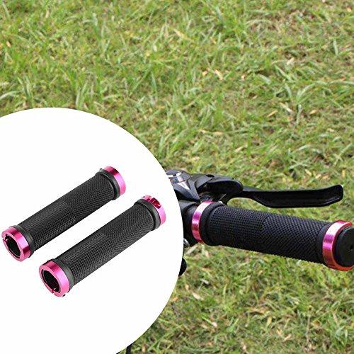 Everpert da con MTB Red di per bici di serratura plastica manubrio 1 nbsp;paio di strada Pg4qwPrf