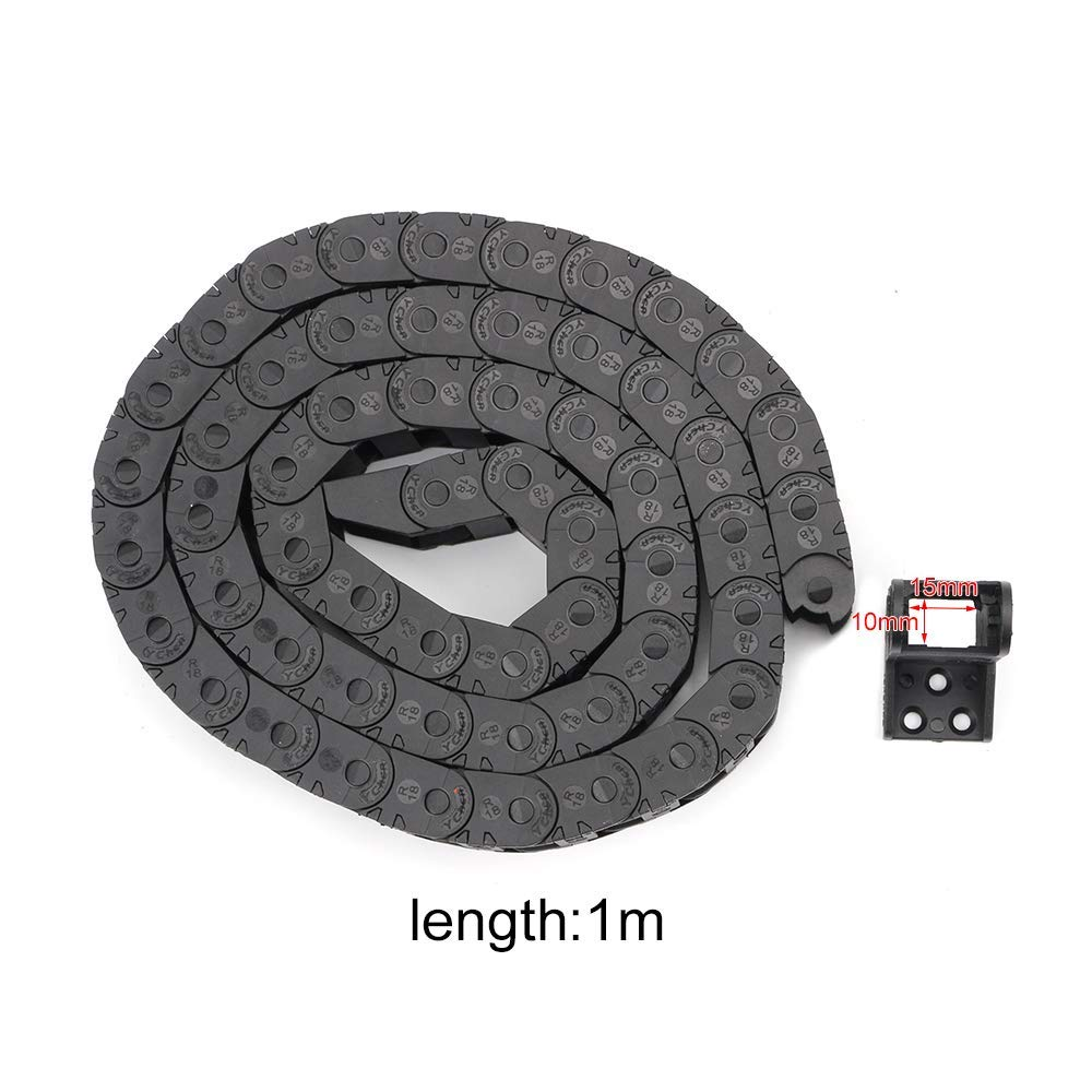 Inner Size : 1000x7x7mm YAYANG Drive chain 1M transmission drag chain for machine cable drag chain for 3d printer cnc Tool parts