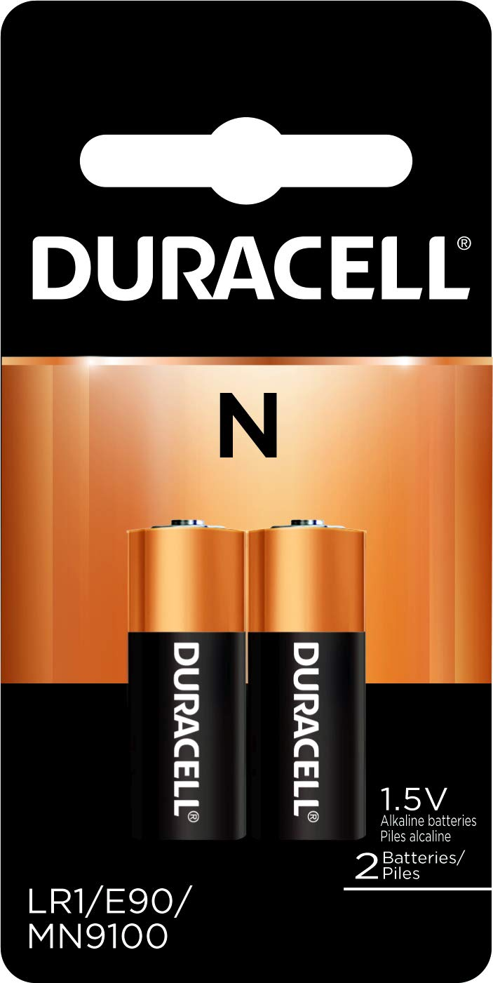 Duracell Coppertop Alkaline N Batteries, 2 Count (Pack of 6)