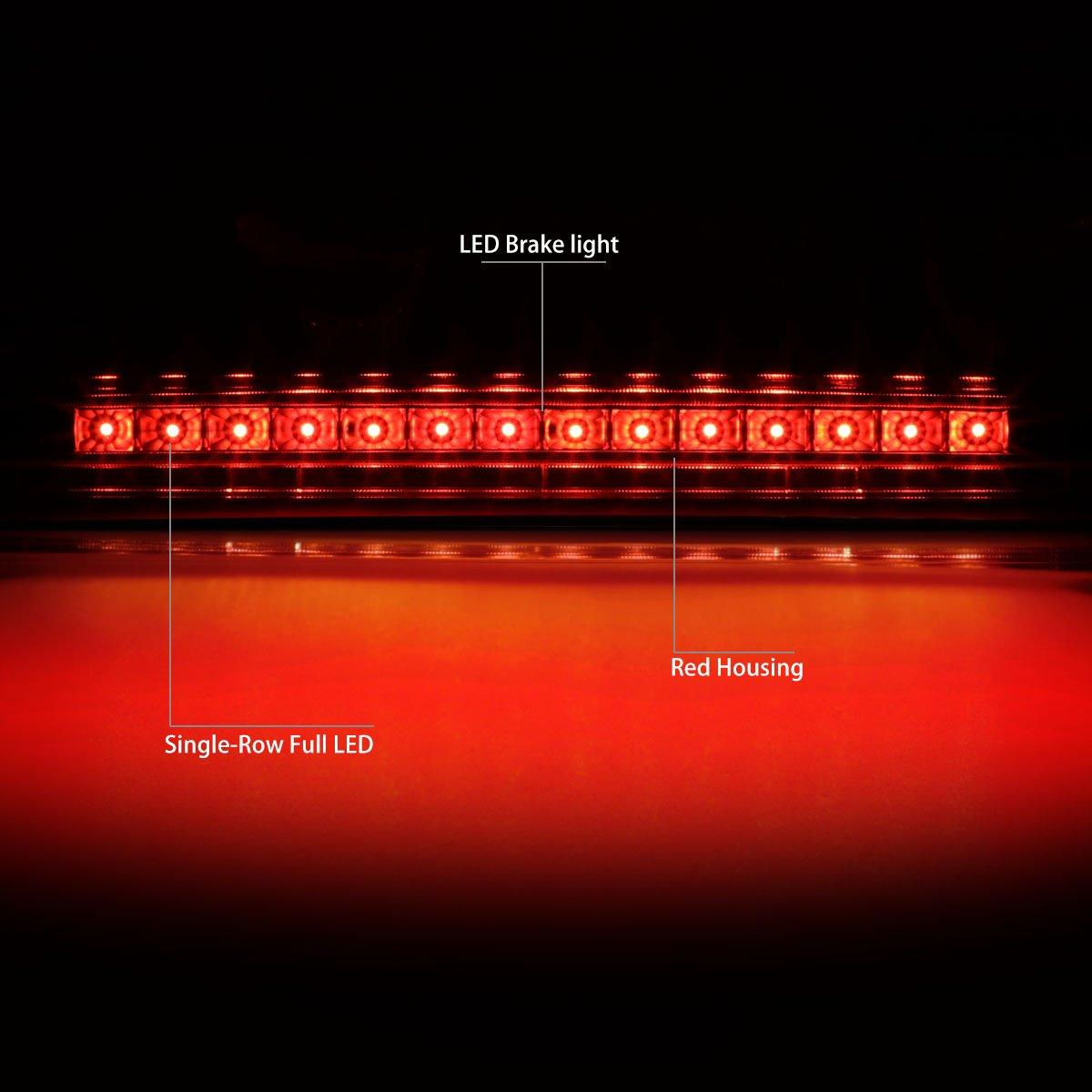 for 05-10 Scion tC DNA MOTORING 3BL-STC04-LED-CH Full LED Third Brake Light Chrome