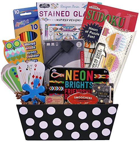 Teen Girl's Birthday or Special Occasion Gift with Fun Teen Oriented Activities and Gifts