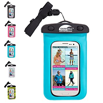 sports shoes 16c4c 1df51 SwimCell Waterproof Phone Case for iphone 6, 7 plus, Samsung, iPad, Tablet,  Kindle, MP3 Player, Camera, Keys, Money holder, Passport. High Quality. ...