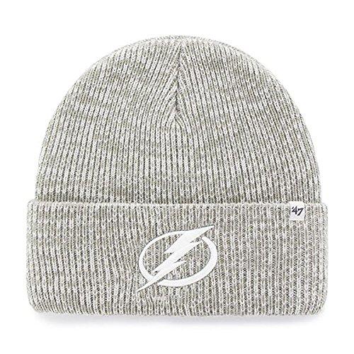 NHL Tampa Bay Lightning Brain Freeze '47 Cuff Knit grau Mütze Wollmütze 47 Brand