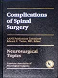 Complications of Spinal Surgery, , 0962424684