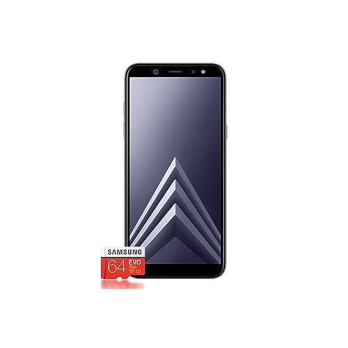 Samsung Galaxy A6 Smartphone 2018 tarjeta SD de 64 GB Lila versión alemana