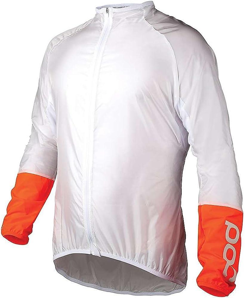 POC Essential Road Wind Jacket Hydrogen White Medium