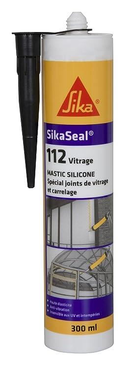 Sikaseal 112 Vitrage Mastic Silicone Spécial Joint De Fenêtre Et