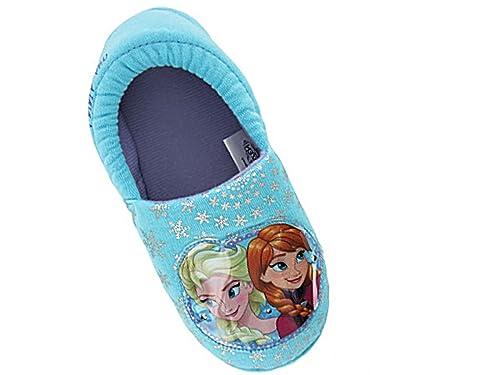 per motivo rosa invernali Disney bambine con celesti Pantofole e qIA04wqz